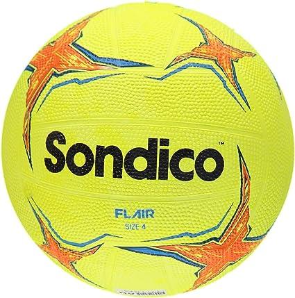 Sondico Flair textrued de goma amarillo Fútbol Balón de fútbol ...