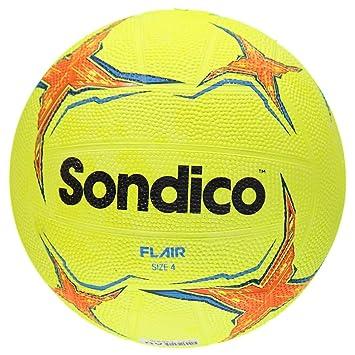 Sondico - Flair Textrued de Goma Amarillo de fútbol balón de ...