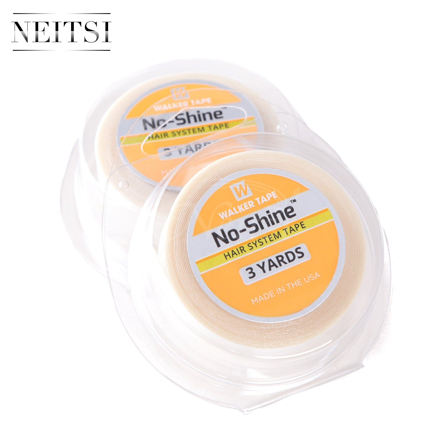 Neitsi 1pc 1/2 X 3Yards No Shine Bonding Double Sided Walker Tape Roll for Tape in Hair Extensions LTD
