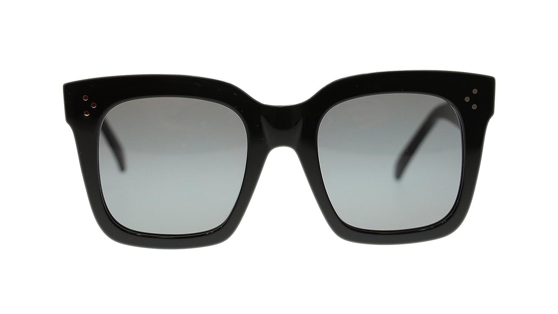 860d3e7329ec5 Celine Tilda Women Square Sunglasses CL41076 0807 Black Grey Lens 51mm  Authentic  Amazon.co.uk  Clothing