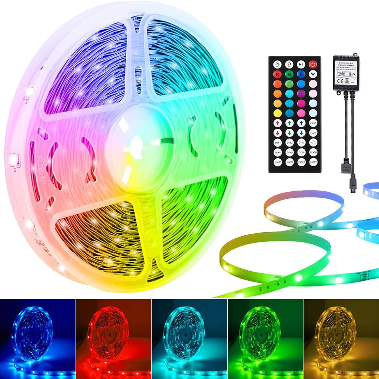 Details about  /5-30M RGB 5050SMD LED Stripe Streifen Lichtband WiFi Alexa Controller Netzteil