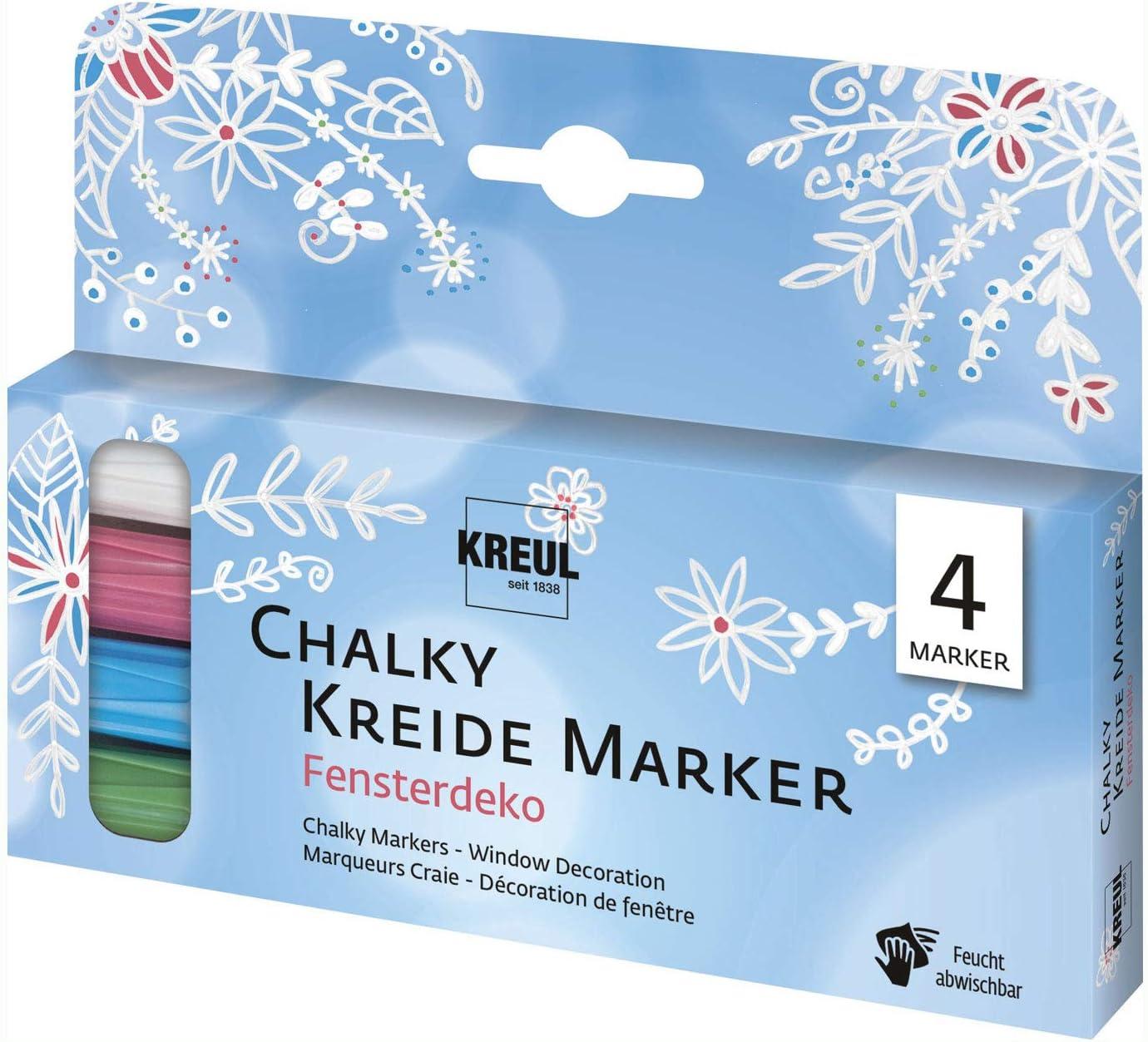KREUL Kreidemarker Chalky Medium 4er Set