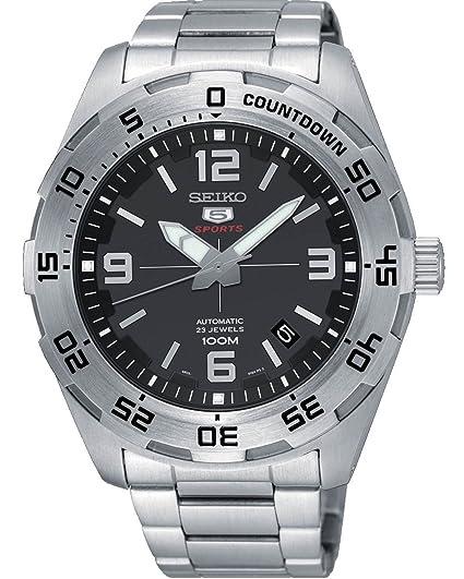 Seiko Reloj Analógico para Hombre de Automático con Correa en Acero Inoxidable SRPB79K1: Amazon.es: Relojes