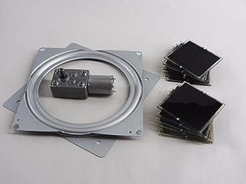 Solar Tracker Component Diy Kit Includes 12v Dc Motor