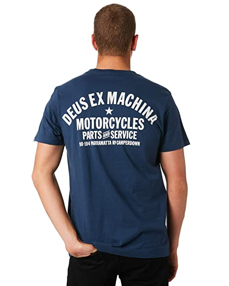 6e7367f82 Amazon.com: Deus Ex Machina Camperdown Address Short Sleeve T-Shirt ...