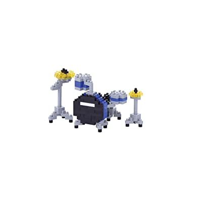 Nanoblock Drum Set Building Kit: Toys & Games