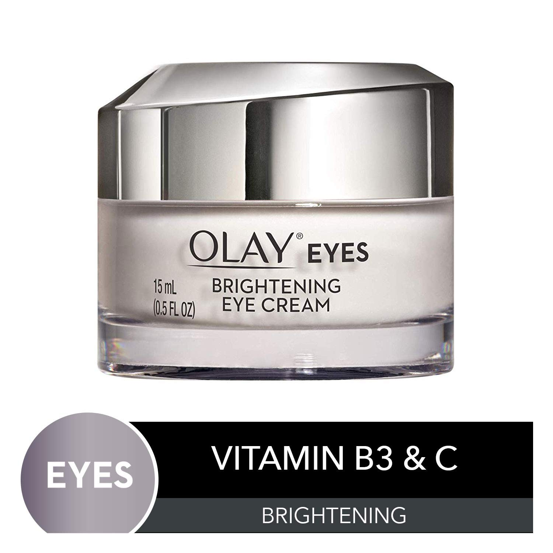Olay Brightening Eye Cream with Vitamin C & B3 to Help Reduce Dark Circles, 0.5 Fl Oz by Olay