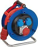 Brennenstuhl 1182770 - Carrete alargador de cable (25 m, AT-N07V3V3-F 5G1,5, IP 44)