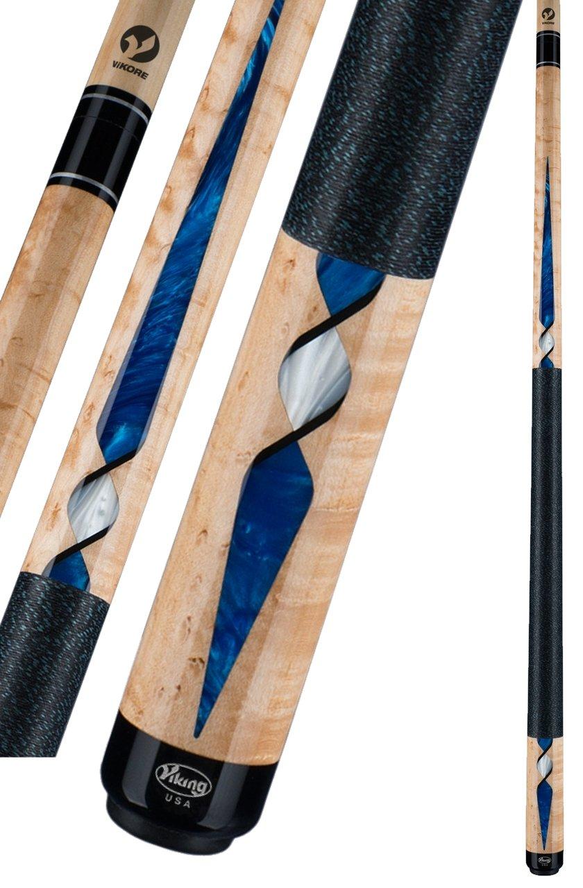 Viking Cues a46 Xシリーズビリヤードとプールスティック B00VJZFZC8 ブルー パール 19 oz