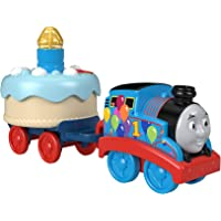Thomas & Friends GHN67 Fisher-Price Birthday Wish Thomas, Musical Push-Along Toy Train
