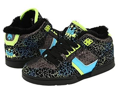 afefa6970a4 Osiris Skateboard Shoes South Bronx Kids Black/Blue/Fluff, shoe size ...