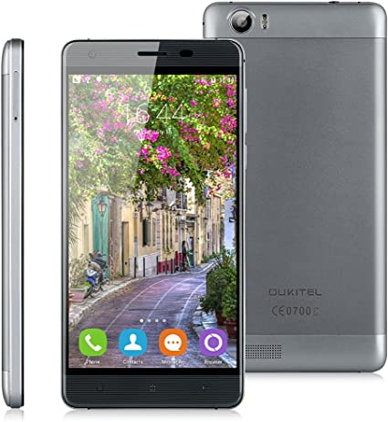 OUKITEL K6000 LTE 4G - Smartphone Libre Android 16G (5.5