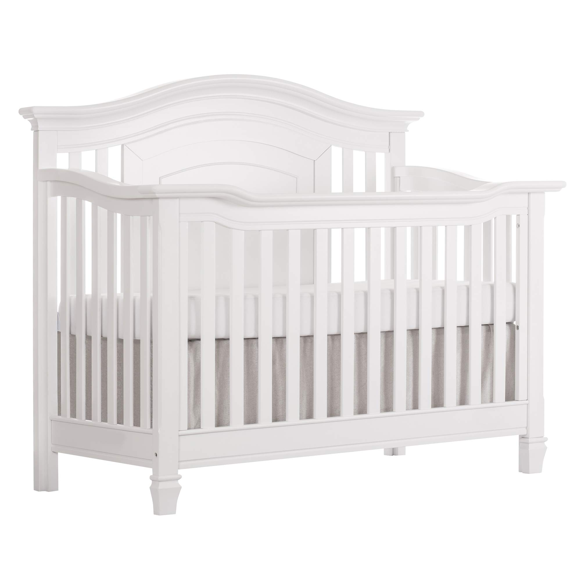 5 Cool Cribs That Convert To Full Beds: Amazon.com : Evolur Universal Convertible Crib Wooden Full
