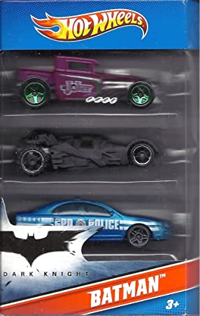 Hot Wheels Batman 3 Pack Cars (Includes Bone Shaker Special The ...