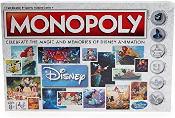 Amazon.com: Hasbro Gaming Monopoly: Disney Animation Edition ...