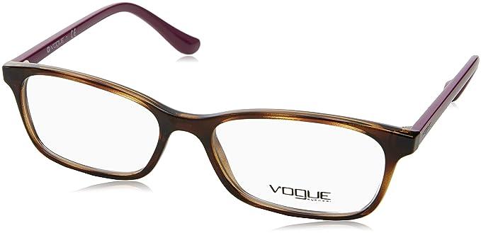 b7989281b7 Vogue VO5053 Eyeglass Frames 2406-53 - Dark Havana VO5053-2406-53 at ...