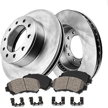 Front+Rear Brake Rotors /& Ceramic Pads For 2002-2006 Audi A4 3.0L 2WD Quattro