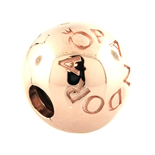 loving Pandora logo ciondolo charm, con rose 781015