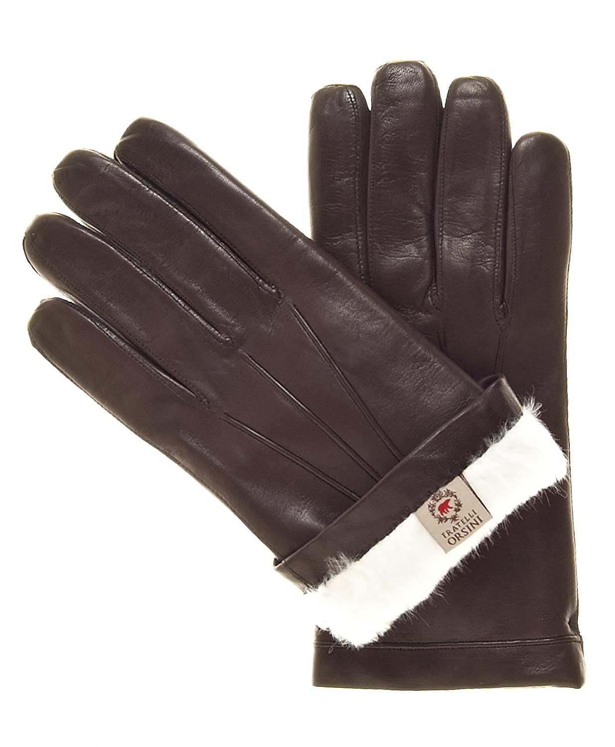 Mens leather gloves rabbit fur lined - Best Fratelli Orsini Men S Italian Rabbit Fur Lined Leather Gloves