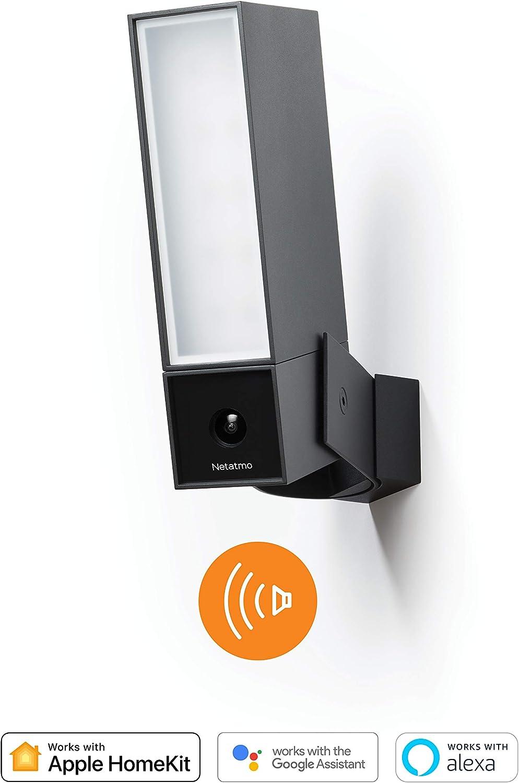 Netatmo Smarte Überwachungskamera Für Den Außenbereich Mit 105 Db Sirene Wlan Integrierte Beleuchtung Bewegungserkennung Nachtsicht Ohne Abonnement Noc S De Baumarkt