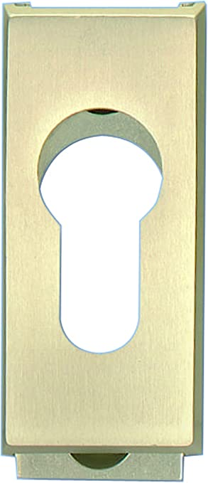 Embellecedor de corredera Alpertec de aluminio anodizado y roseta para picaporte puerta, 65 x 30 mm, plata, 40111970K1: Amazon.es: Bricolaje y herramientas