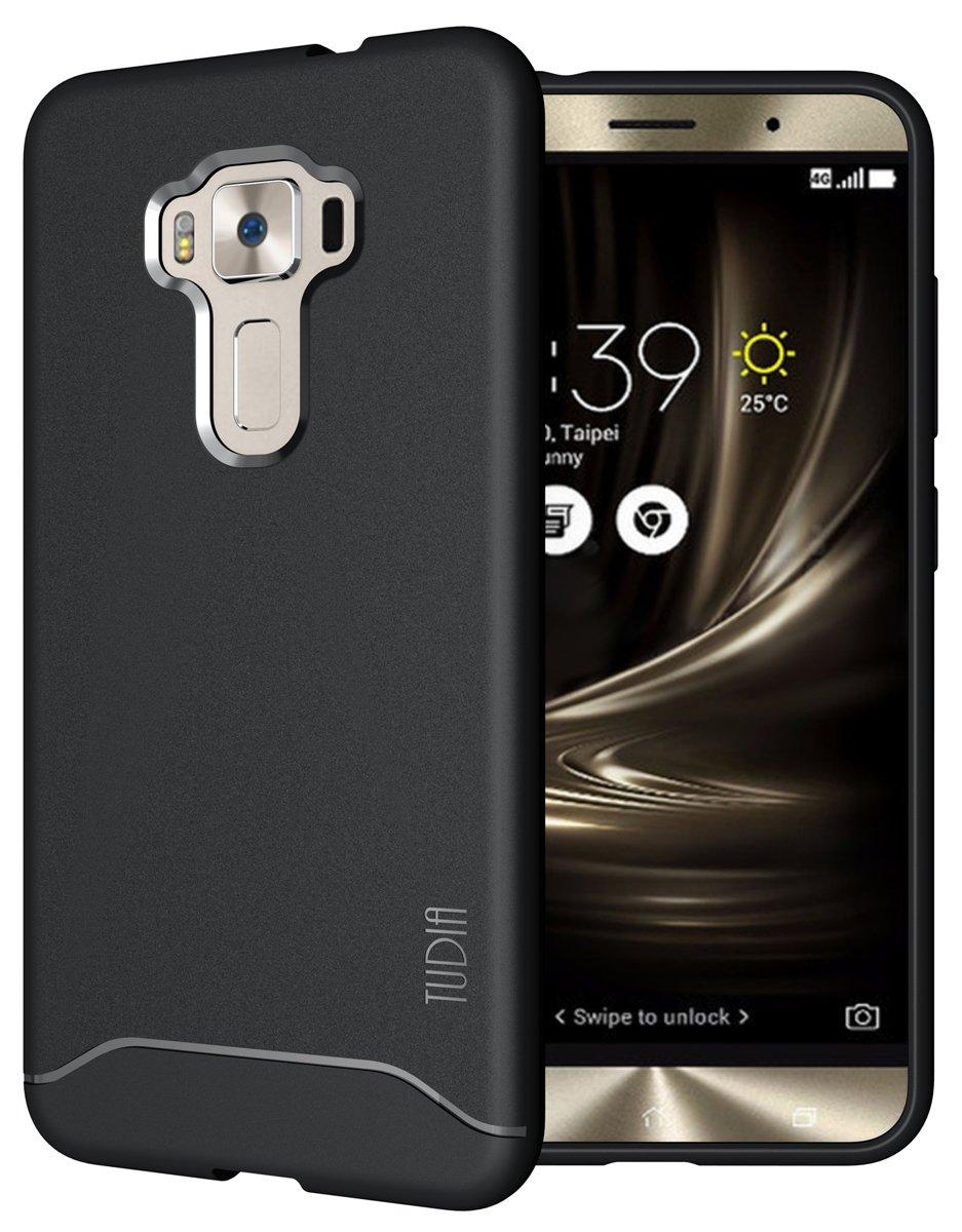 TUDIA ZenFone 3 ZE552KL Funda, Ultra Delgado Mate Completa Arch ...