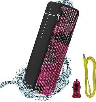 Ultimate Ears UE MegaBoom Lava Red Waterproof Wireless Bluetooth Speaker