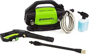 Greenworks GPW1502 1500 PSI 1.2 GPM Electric Pressure Washer