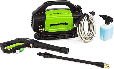 Greenworks 1500 PSI 1.2 GPM Electric Pressure Washer, GPW1502 : Garden &  Outdoor - Amazon.com