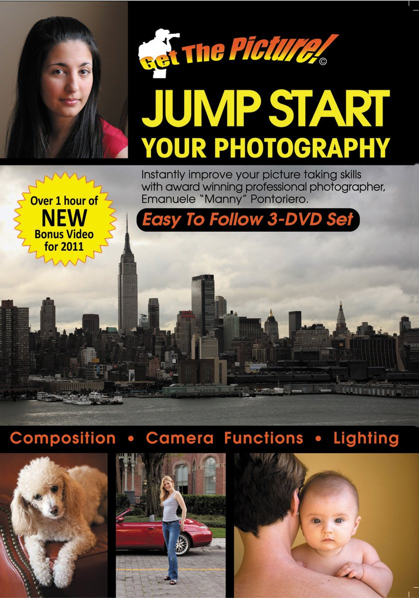 Jump Start Your Photography 3 DVD Set by Get the Picture TV