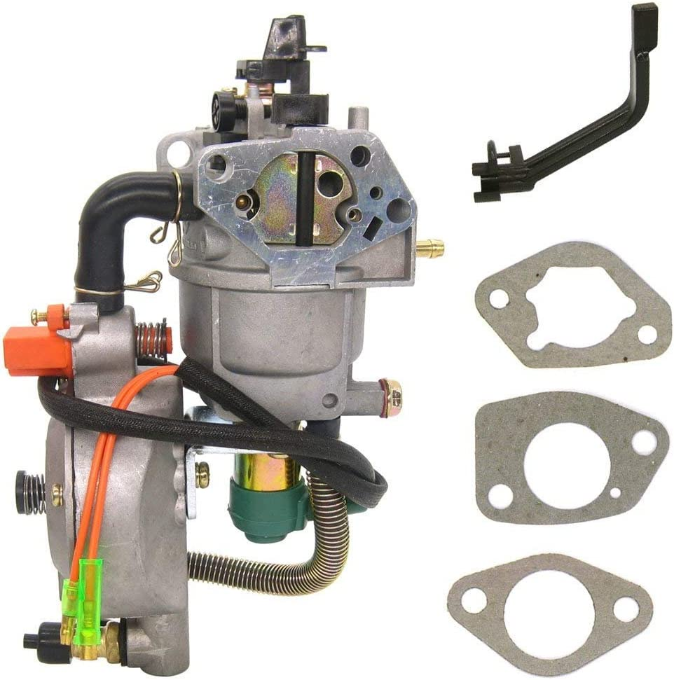 Dual Fuel Carburetor LPG conversion kit for generator GX390 188F 4.5-5.5KW