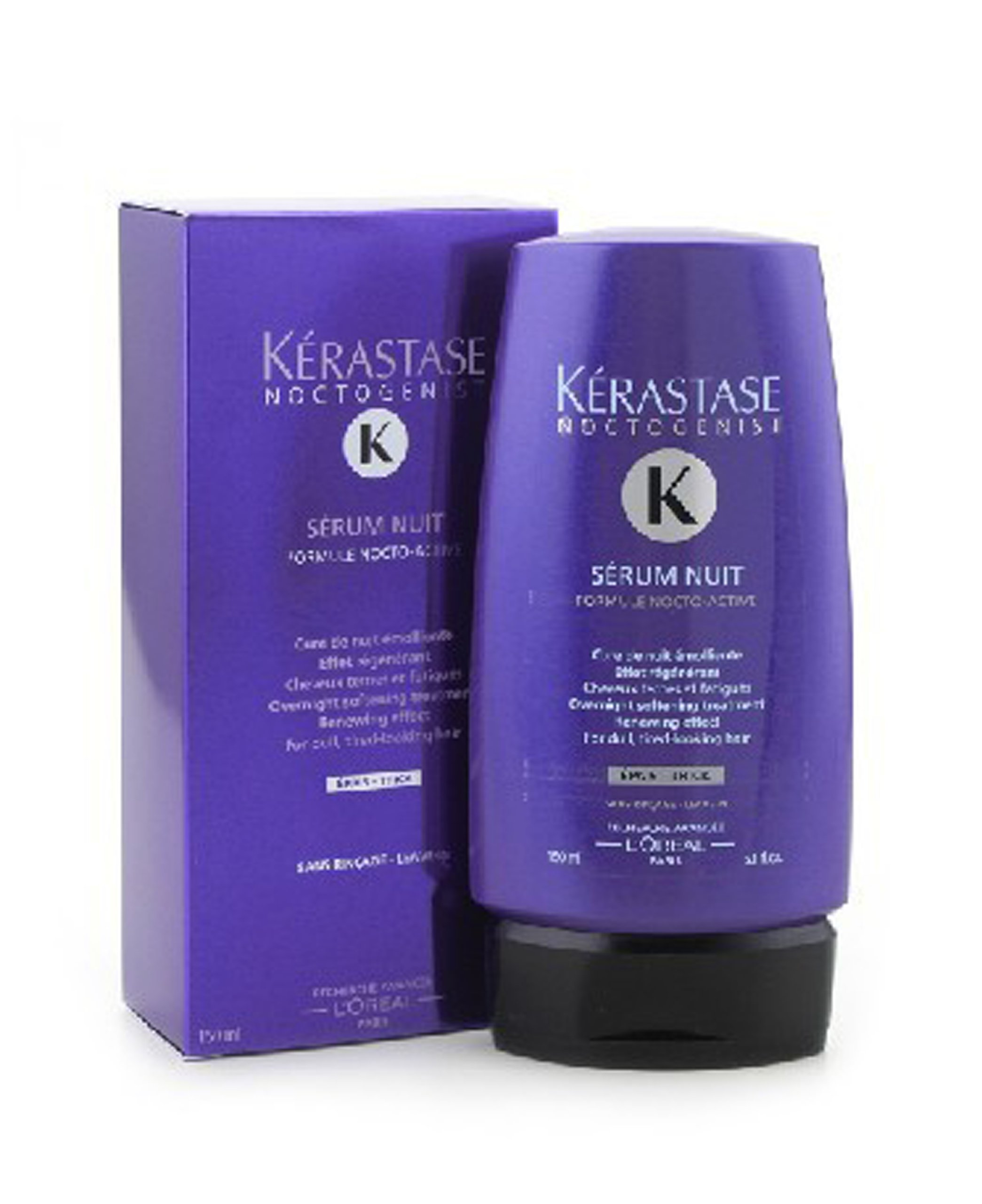Noctogenist Serum Nuit Overnight Softening Leave-In Treatment ( For Dull, Tired-Looking Hair ) - Kerastase - Noctogenist - 150ml/5.1oz