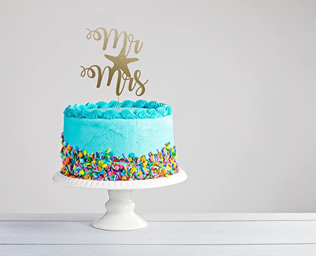 Amazon Destination Wedding Cake Topper Beach Wedding Topper