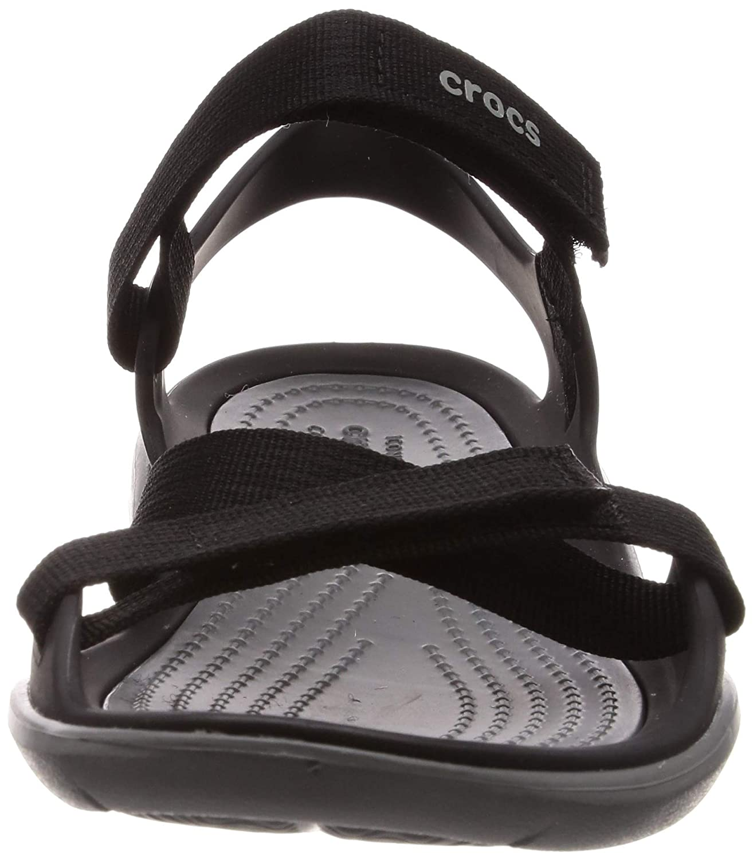 c8ac4d6540c1 Amazon.com  Crocs Women s Swiftwater Webbing Sandal  Shoes