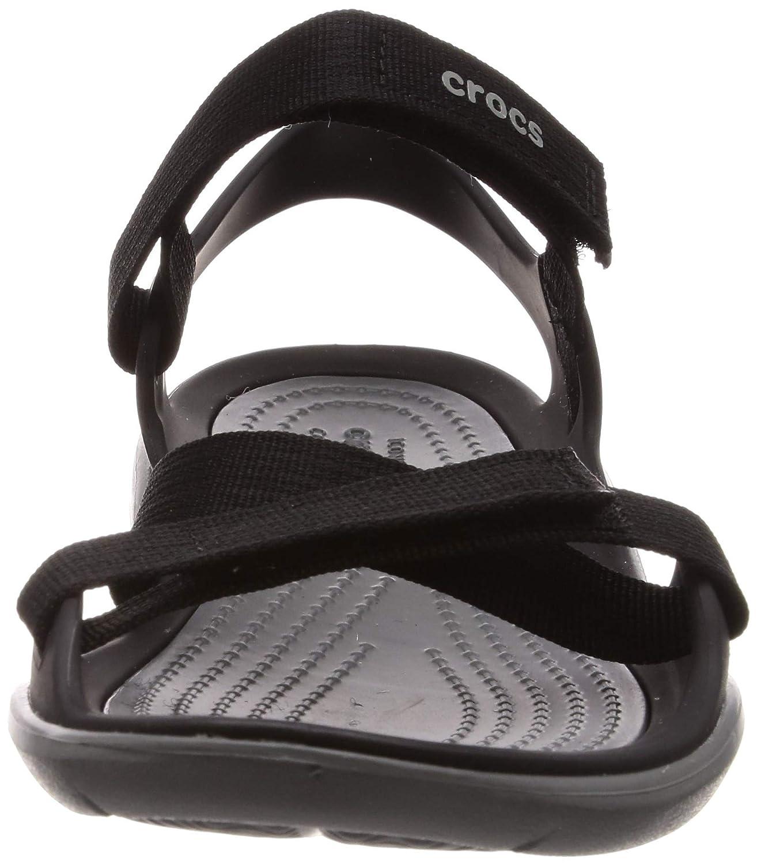 3e5bdfbe8ce9 Amazon.com  Crocs Women s Swiftwater Webbing Sandal  Shoes