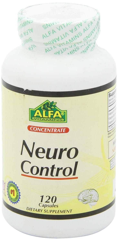Amazon.com: Alfa Vitmains Neuro Control Capsules, 120 Count: Health &  Personal Care