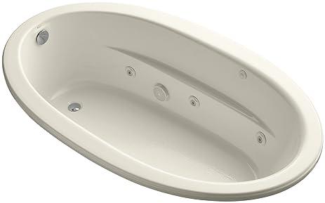 KOHLER K 1164 S1HB 47 Sunward ExoCrylic Drop In Whirlpool With Heater