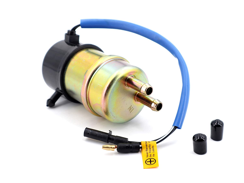 Electric Fuel Pump 12v Kawasaki Mule Fuel Pump 49040-1055 KAF620 3000 3010 3020 2520 2500 2510 1000 8mm In//Outlet