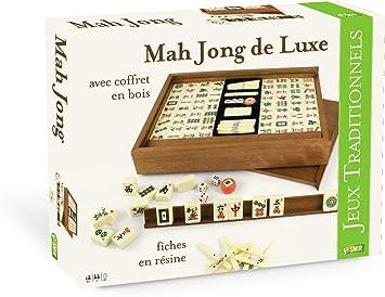 Smir 37202 Jeu De Société Coffret De Mah Jong Luxe Amazon Fr Jeux Et Jouets