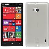 PhoneNatic Custodia Nokia Lumia 930 Cover bianco trasparente Lumia 930 in silicone + pellicola protettiva