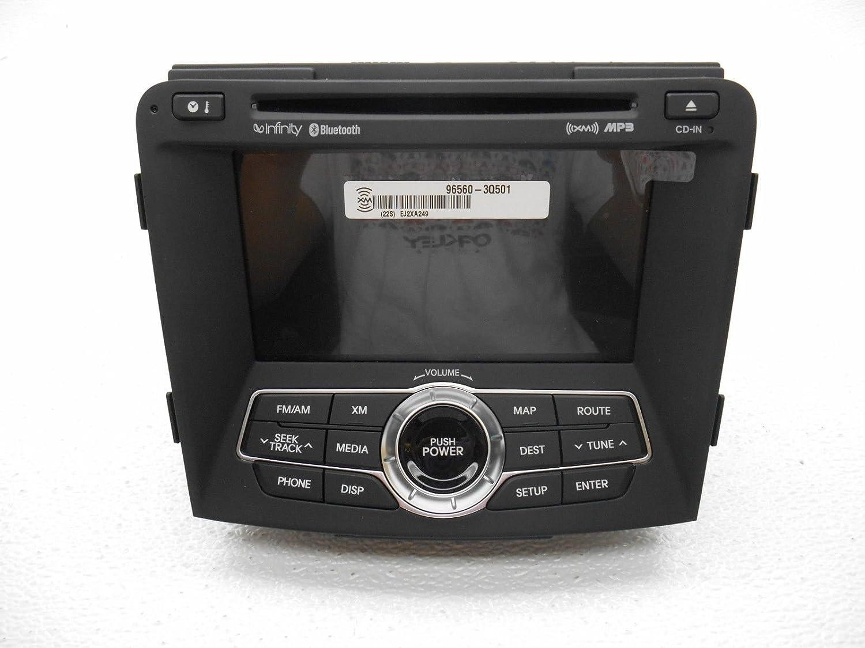 Amazon.com: Genuine Hyundai 96560-3Q501 Audio Video Navigation Head Unit Assembly: Automotive