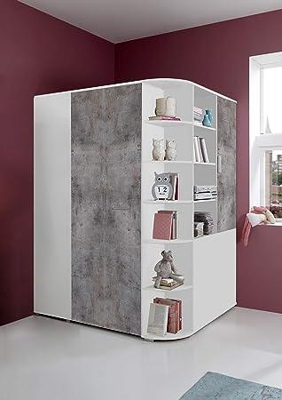 eckkleiderschrank begehbar. Black Bedroom Furniture Sets. Home Design Ideas