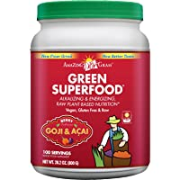 Amazing Grass Green 100 Servings 28.2 Ounces SuperFood Berry