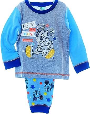 Schlafanzug Mickey Mouse Baby Pyjama SET 68 74 80 86 NEU Shirt /& Hose Disney