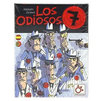 Mercurio Los Odiosos 7 - Juego de Cartas en Castellano