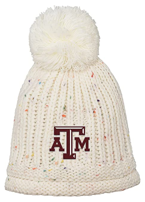 sale retailer aec77 de5ff Outerstuff NCAA Texas A M Aggies Youth Girls Purl Rib Cuffed Knit with Pom  Hat, 1