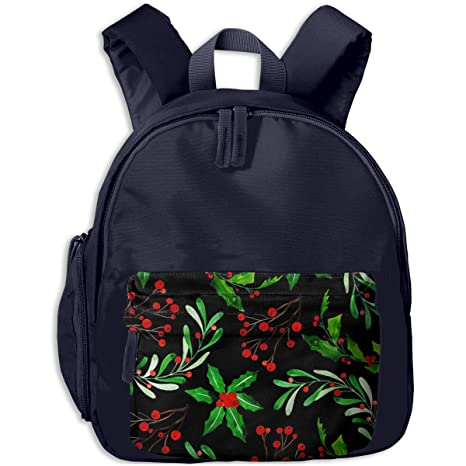 Image Unavailable. Image not available for. Color  NFtrend Watercolor  Christmas Pattern Background Kids Lightweight School Backpacks ... a5103755dec81