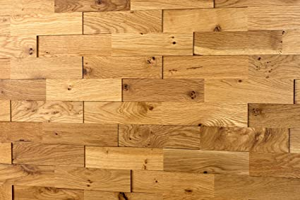 Wodewa Oak Rustic Wood Cladding For Interior Walls I 1m² Wooden Wall Cladding 3d Wall Panels Modern Wall Covering Living Room Kitchen Bedroom Wall