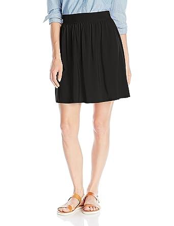 0d7de1573 Star Vixen Women's Knee-Length Full Skater Skirt with Self-Tie Bow Belt,