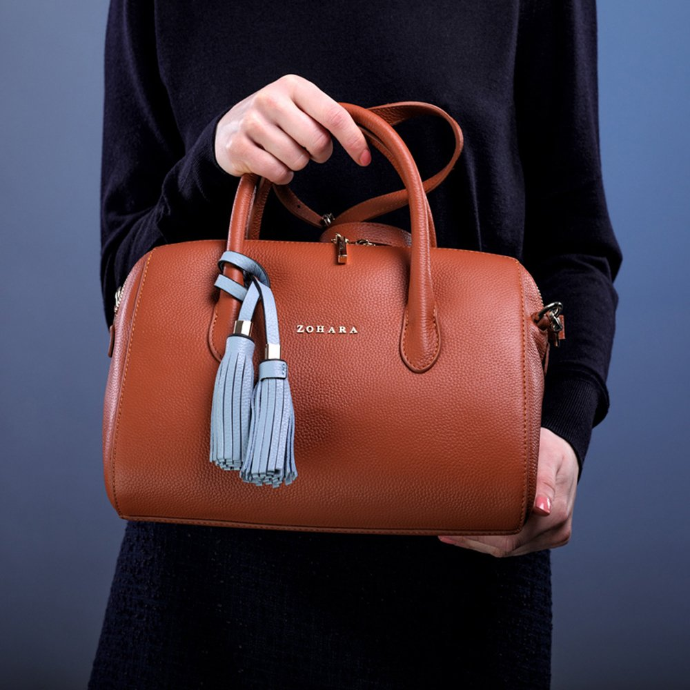 3fa1229fe73b Zohara Manor Handbag Tan  Amazon.co.uk  Shoes   Bags